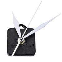 Mudder Quartz Clock Movement, 3/25 Inch Maximum Dial Thickness, 1/2 Inch Total Shaft Length (White)