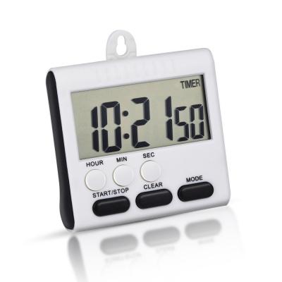 Mudder Magnetic Alarm Digital Kitchen Timer 24 Hours Clock Timer ...