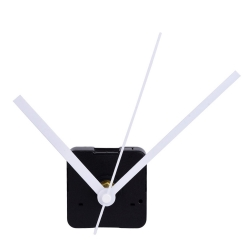 Mudder Silence Quartz Clock Movement, 11/ 25 Inch Maximum Dial Thickness, 4/ 5 Inch Total shaft length