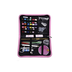 Mudder Sewing Kit Sewing Supplies Sewing Accessories for Home, Travel and Emergency (Pink)