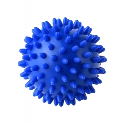 Mudder Spiky Massage Ball, Hard Stress Ball 7.5cm for Fitness Sport Exercise (Blue)