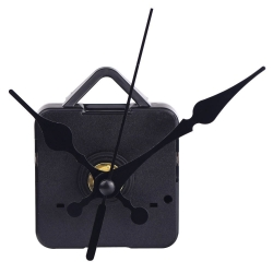 Mudder Quartz Clock Movements Mechanism Parts Repair Making DIY Watch Tools Black