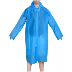 Mudder Portable Raincoat Rain Poncho with Hoods and Sleeves