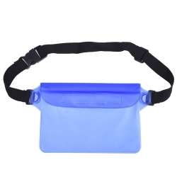Mudder Waterproof Pouch Bag with Adjustable Waist Strap for Swimming, Sunbathing, Kayaking, Fishing, Hiking, Water Park