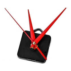 Mudder DIY Quartz Clock Movement Mechanism Red Hands Mechanism Repair Tool