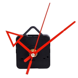 Mudder Quartz Clock Movement Mechanism DIY Repair Tool with Triangle Red Arrow