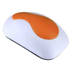 Mudder Magnetic Whiteboard Eraser in Mouse Shape for Dry Erase Pens and Markers (Orange)
