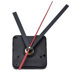 Mudder DIY Clock Movement Mechanism, 3/ 25 Inch Maximum Dial Thickness, 1/ 2 Inch Total Shaft Length