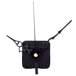 Mudder Black Hands High Torque Clock Mechanism, 3/ 10 Inch Maximum Dial Thickness, 4/ 5 Inch Total Shaft Length