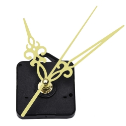 Mudder Quartz Wall Clock Movement Mechanism Golden Hands DIY Repair Tool Kits