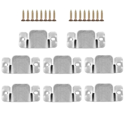 Mudder Universal Sectional Sofa Interlocking Furniture Connector with Screws, 8 Pack