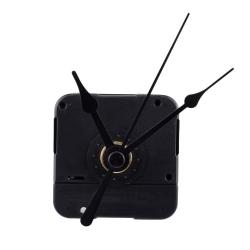 Mudder Quartz Clock Movement Mechanism Repair DIY Tool Kit with Black Hands