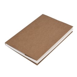 Mudder Artist Sketch Book Drawing Paper Pad 5.0 * 7.5 Inches, 62 Sheets (Kraft Paper Cover)